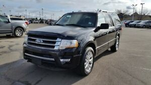 2017 Ford Expedition Max LIMITED MAX 4WD Accident Free,  Navigat