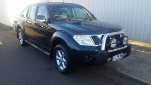 2014 Nissan Navara D40 MY12 Upgrade ST (4x4) Blue Velvet 5 Speed Automatic Dual Cab Pick-up South Burnie Burnie Area Preview
