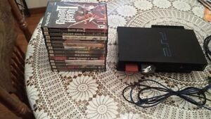 Playstation 2 modded w/ DMS3 / 120GB HDD London Ontario image 2