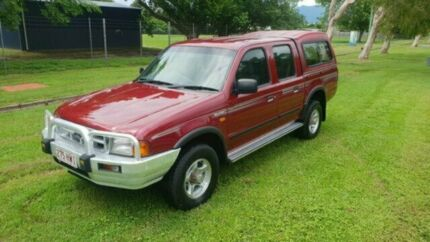 2002 Ford Courier Turbo Diesel 4x4 Dual Cab Bungalow Cairns City Preview
