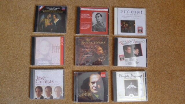85cdc5a738fa Opera CD collection - over 40 CDs
