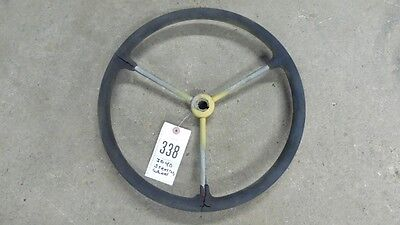 John Deere 40 Steering Wheel 3 Steel Look Keyway Item 0338