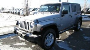 2014 Jeep Wrangler Unlimited 4WD UNLIMITED SPORT A/C,