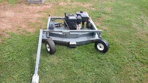 Swisher pull behind mower 50 inches wide