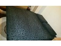 As new sofa bed over 4 seater 2 x large size same cushion great condition