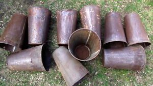 10 Vintage sap buckets for crafts.$5.00 each $40 for all