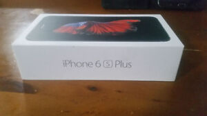 IPhone 6s Plus, black, 16gb, like BNIB Apple Care until Sep2017