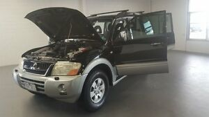 2003 Mitsubishi Pajero NP Exceed Black 5 Speed Sports Automatic Wagon Frankston Frankston Area Preview