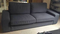 Ikea sofa canapé Kivik 4 places
