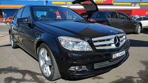 2010 Mercedes-Benz C200 CGI W204 Classic Black 5 Speed Sports Automatic Sedan Batemans Bay Eurobodalla Area Preview