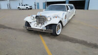 One of a kind Excalibur stretch limousine