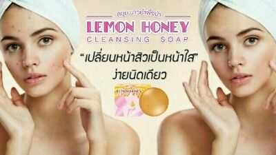 best seller best product Lemon Honey Cleansing soap Natural 100% for all skin
