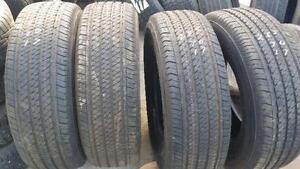 Four brand new Bridgestone 17 inch tires
