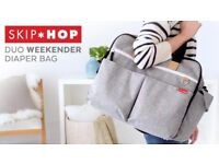 Skip Hop Duo Weekender Changing Bag BRAND NEW