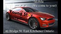 MOBILE CAR CLEANING $60/ TIRE CHANGE $20/ . WE COME TO YOU .