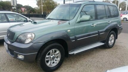 2005 Hyundai Terracan Highlander CRDi Green 5 Speed Manual Wagon Frankston Frankston Area Preview