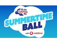 Capital Summertime Ball Tickets x2 Pitch Standing