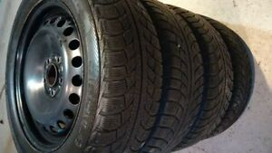205/55 R16 Set of 4 winter GISLAVED NORD FROST5.