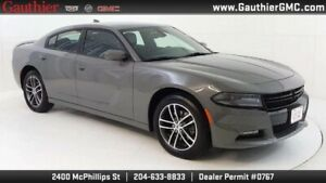 2019 Dodge Charger SXT Plus AWD, 3.6L V6, Heated/Cooled Leather