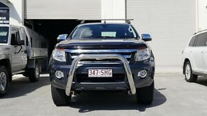 2012 Ford Ranger PX XLT Double Cab Grey 6 Speed Sports Automatic Utility Capalaba West Brisbane South East Preview
