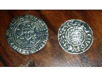 WANTED COINS FROM CELTIC /ROMAN & ENGLISH HAMMERED.
