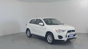 2012 Mitsubishi ASX XB MY13 (2WD) White Continuous Variable Wagon Perth Airport Belmont Area Preview