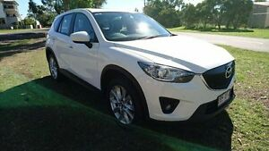 2013 Mazda CX-5 KE1031 MY14 Grand Touring SKYACTIV-Drive AWD White 6 Speed Sports Automatic Wagon Maryborough Fraser Coast Preview