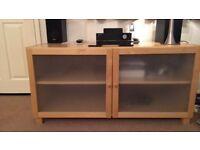 Ikea Beech Sideboard/Storage unit