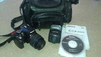 Pentax K-m/K2000 10m Camera complete with case ***REDUCED***