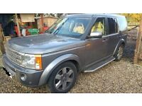 2008 Landrover discovery TDV6 HSE 2.7 diesel