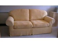 SPRING YELLOW 3-SEATER SETTEE
