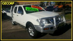 2012 Nissan Navara D40 MY12 ST-X (4x4) White 7 Speed Automatic Dual Cab Pick-up Homebush Strathfield Area Preview