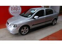 Vauxhall Astra (silver) 2003