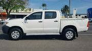 2005 Toyota Hilux GGN25R MY05 SR White 5 Speed Automatic Utility Bungalow Cairns City Preview