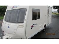 BAILEY PAGEANT series 6,,,2007 ,,,2 berth with MOTOR MOVER & PORCH AWNING