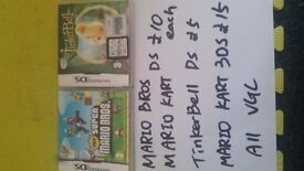 Mario kart £10 tingerbell £5 others sold