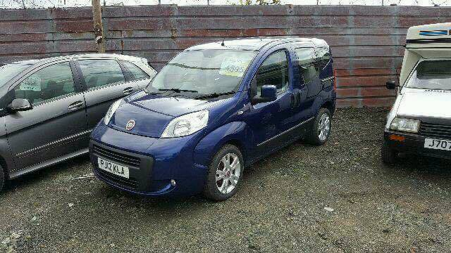 Fiat Qubo 1.3d auto | in Cupar, Fife | Gumtree Fiat Qubo Sel on