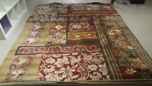 Pottery Barn 8 x 10 Rug, Ideal for Family Room
