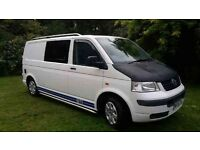 VW T5 newly converted camper to high spec. LWB.
