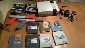 Console NES + Jeux