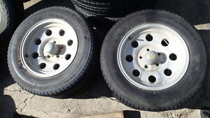 205/70/15 tires with eagle alloy wheels  5x4.75 pattern