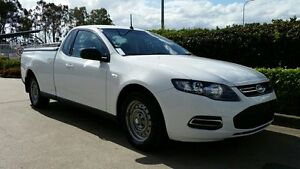 2013 Ford Falcon FG MkII Super Cab Winter White 6 Speed Sports Automatic Cab Chassis Acacia Ridge Brisbane South West Preview