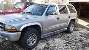 2002 Dodge Durango SUV, Crossover REDUCED