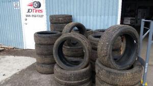 225 45 17 Continental all season tires 90%+  tread $400