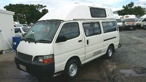 2003 Toyota Hiace SBV RCH12R White 5 Speed Manual 3 BERTH CAMPERVAN Parramatta Park Cairns City Preview