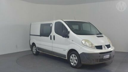 2013 Renault Trafic L2H1 MY11 2.0 DCI LWB White 6 Speed Manual Van Perth Airport Belmont Area Preview