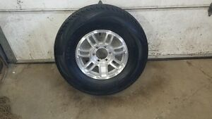BRAND NEW  RIM AND TIRE PACKAGE