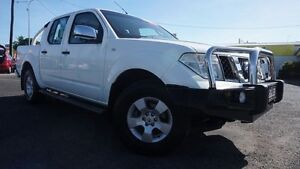 2007 Nissan Navara D40 ST-X White 5 Speed Automatic Utility Westcourt Cairns City Preview