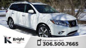2013 Nissan Pathfinder PLATINUM 4X4! Command Start! Around View