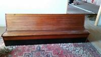 Antique Solid Wood Bench 8 ft